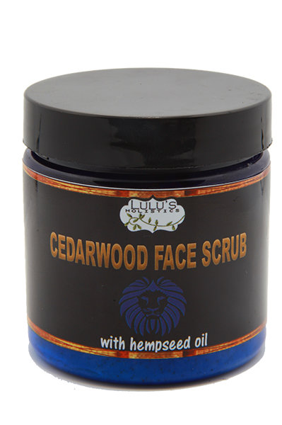 Cedarwood Face Scrub