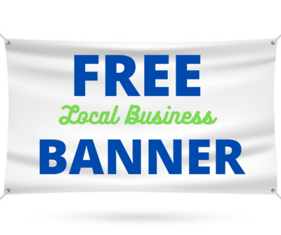 FREE Local Business Banner