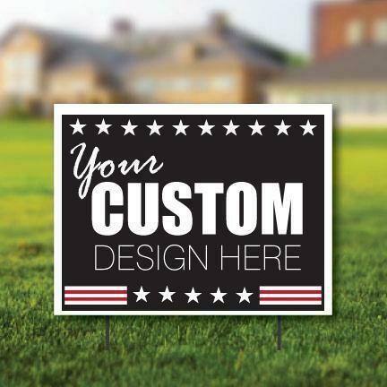 5 Custom Yard Signs