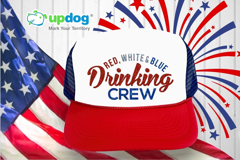 Red, White & Blue Drinking Crew