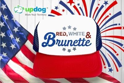 Red. White & Brunette