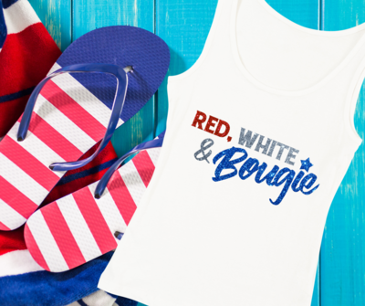 Red. White & Bougie