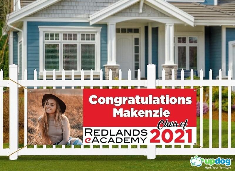 Redlands eAcademy Graduation Banner