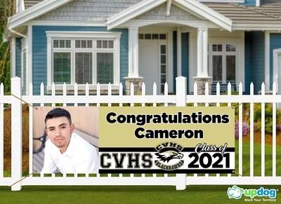 Citrus Valley High School Graduation  Banner