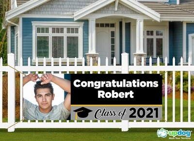 Custom Senior Graduation Banner