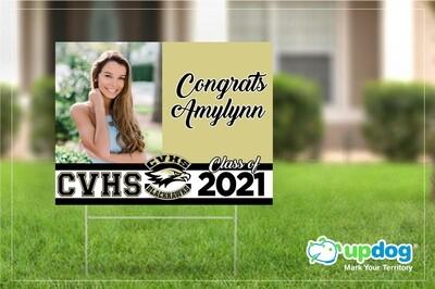Citrus Valley High School Graduation Yard Sign