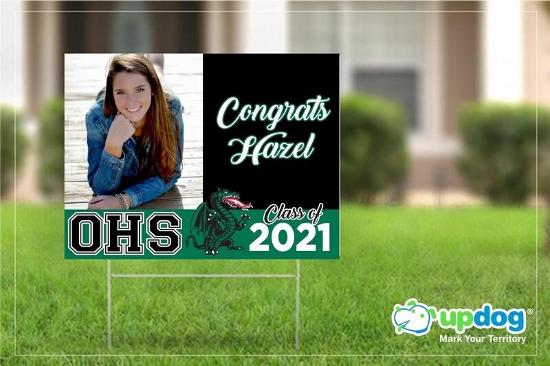 Orangewood High School Graduation Yard Sign