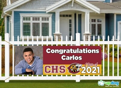 Colton High School Graduation Banner