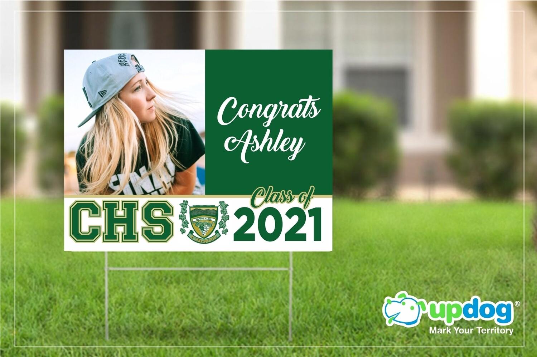 Cajon High School Graduation Yard Sign