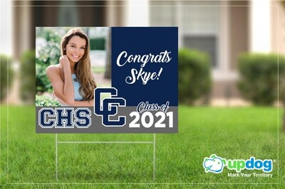 Chino High School Graduation Yard Sign