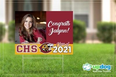 Colton High School Graduation Yard Sign