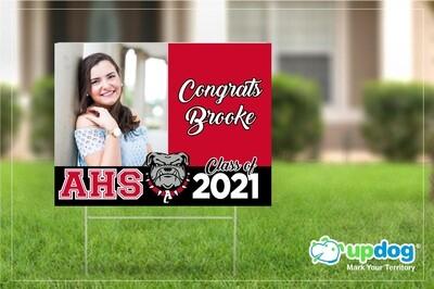 Ayala High Graduation Yard Sign
