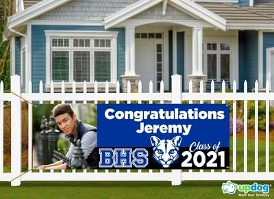 Beaumont High School Graduation Banner