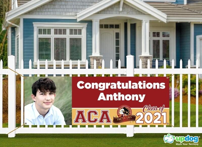 Arrowhead Christian Academy Graduation Banner
