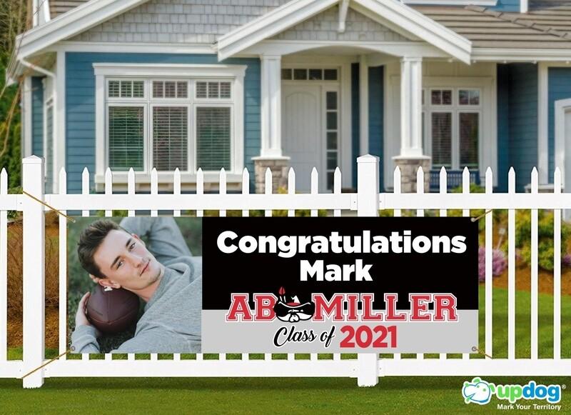 AB Miller Graduation Banner