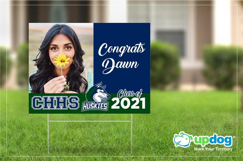 Chino Hills High School Graduation Yard Sign