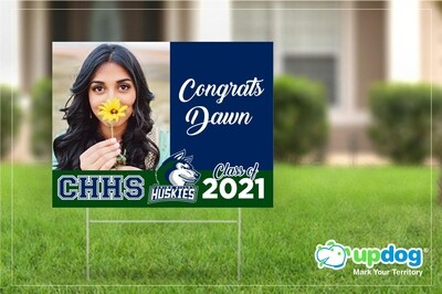 Chino Hills High School Graduation Yard Sign