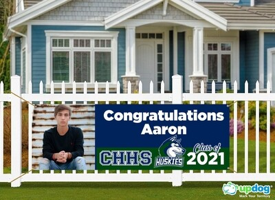 Chino Hills High School Graduation Banner