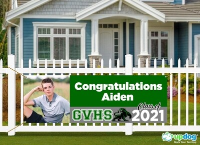 Green Valley High School Graduation Banner