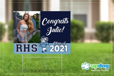 Ramona High School Graduation Yard Sign