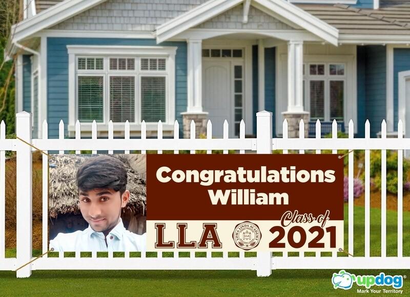 Loma Linda Academy High School Graduation Banner