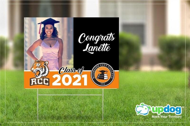 Riverside City College (RCC) Graduation Yard Sign
