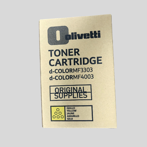 Olivetti MF3303 Genuine Yellow Toner