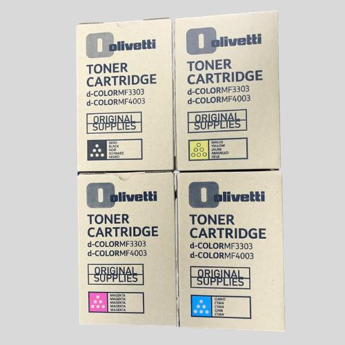 Olivetti MF3303 Toner Set CMYK