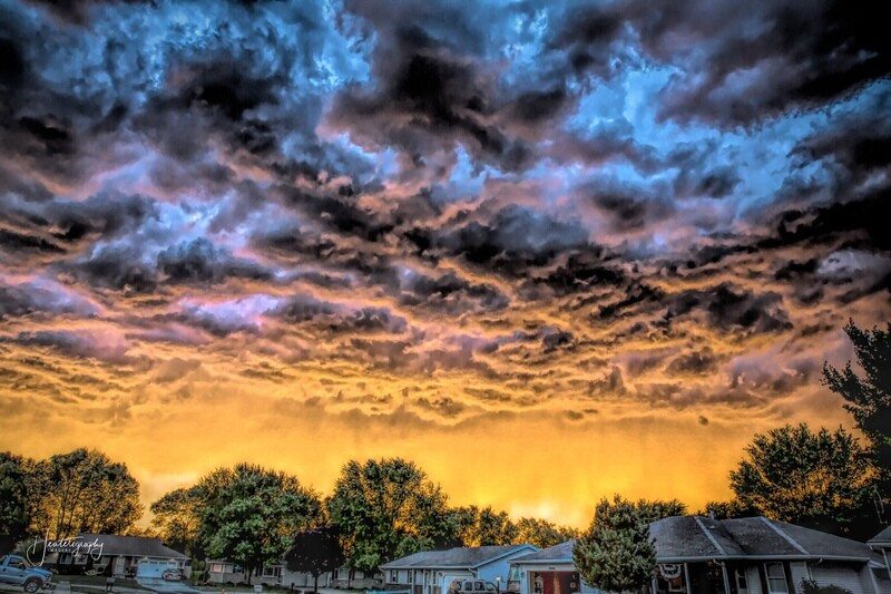 Neighborhood Sunset 272A