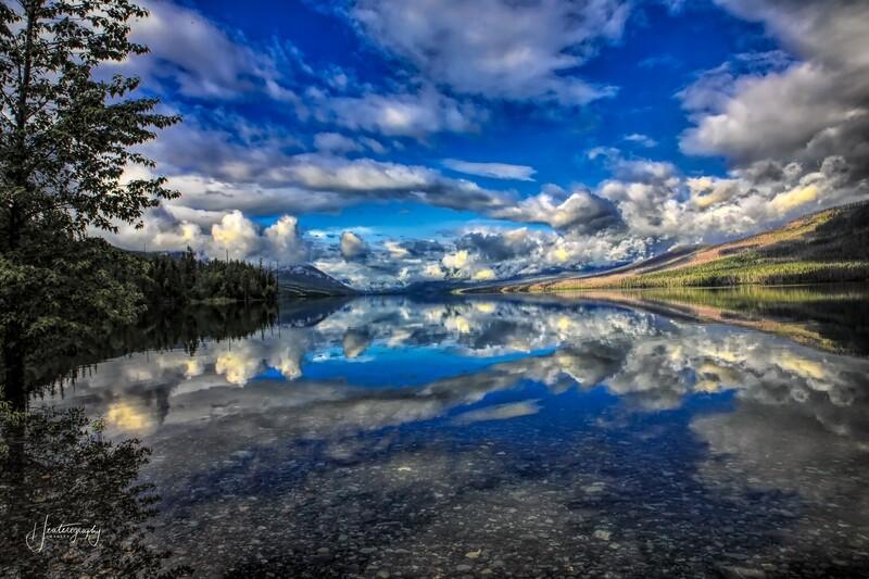 Glacier National Park Reflections 269A