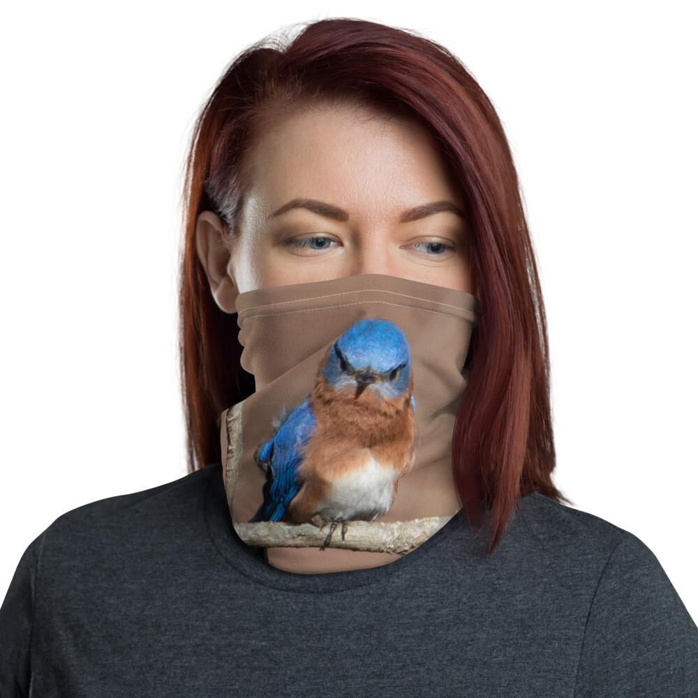 Angry Bluebird Neck Gaiter 310