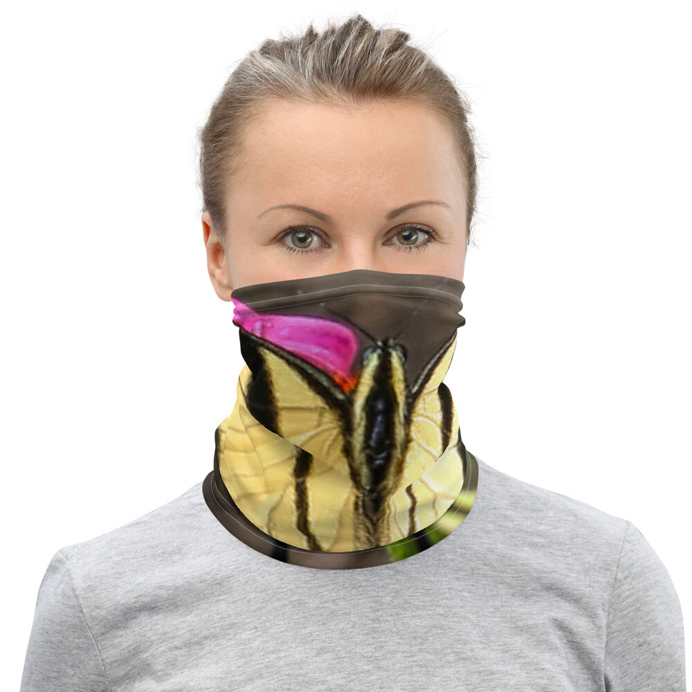 Tiger Swallowtail 182 Neck Gaiter