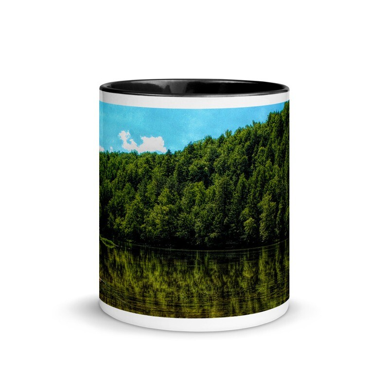 Cumberland River Reflection_116 Mug with Color Inside