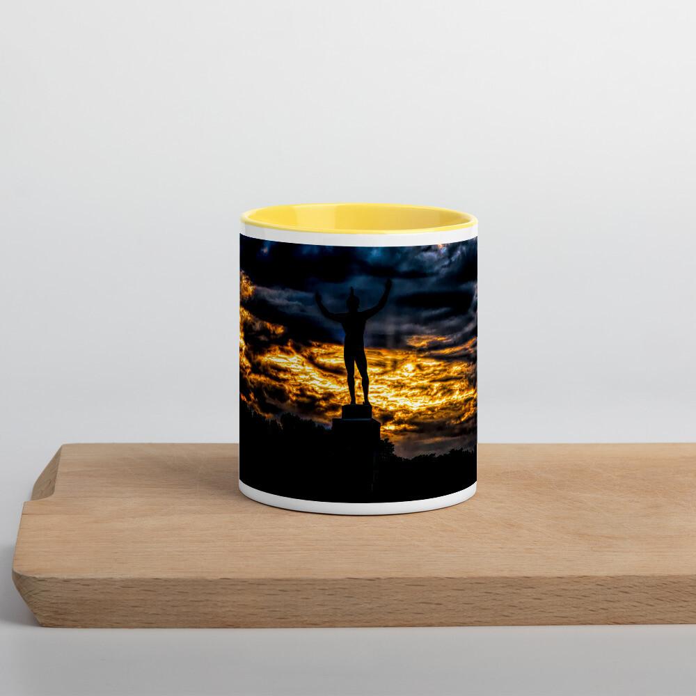 Sunsinger Gold Sunrise_102 Mug with Color Inside
