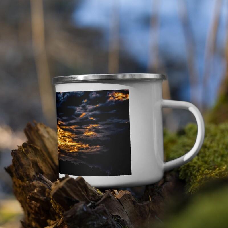 Sunsinger Gold Sunrise_102 Enamel Mug