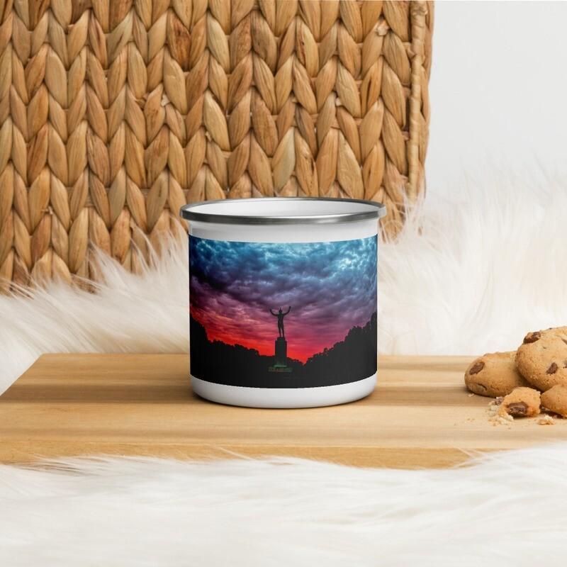 Sunsinger Red Sunrise_106 Enamel Mug