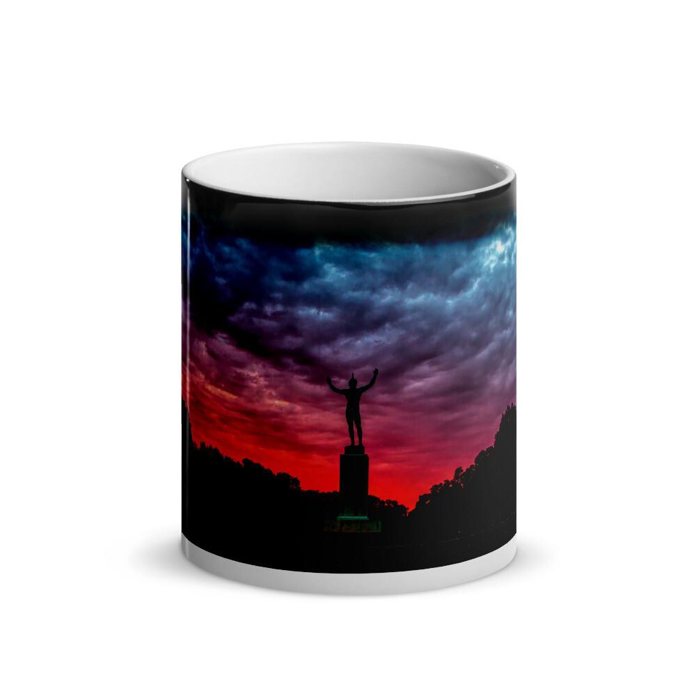 Sunsinger Red Sunrise_106 Glossy Magic Mug