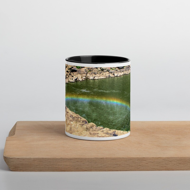 Cumberland Falls Rainbow_120 Mug with Color Inside
