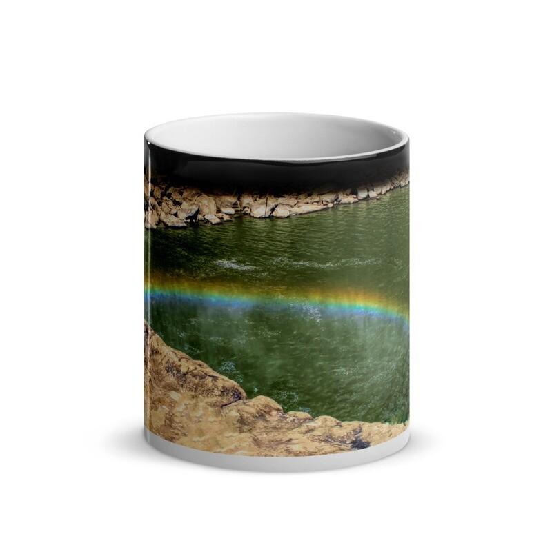 Cumberland Falls Rainbow_120 Glossy Magic Mug