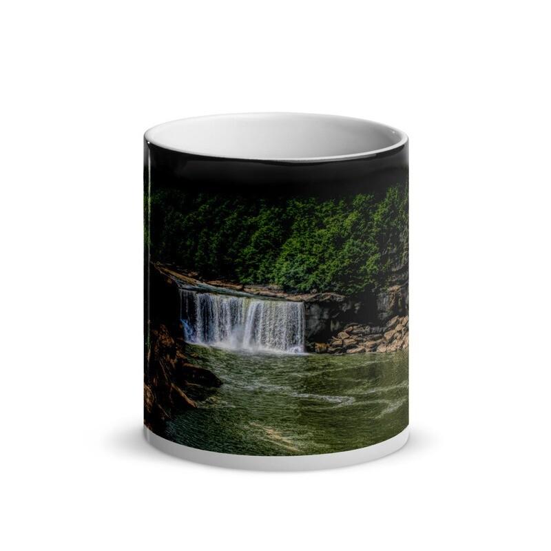 Cumberland Falls_126 Glossy Magic Mug