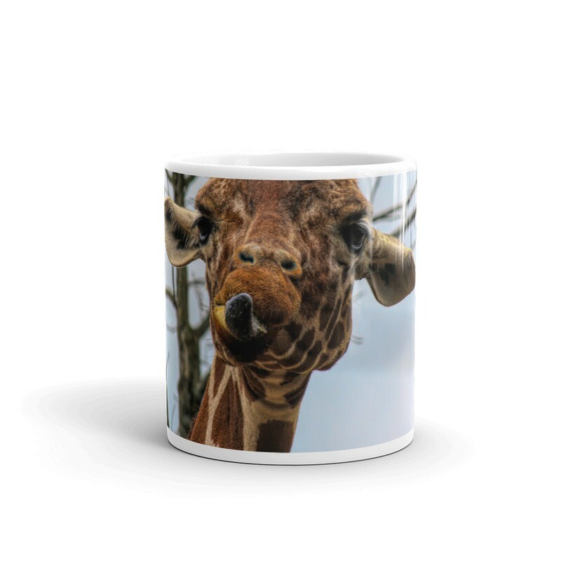 Giraffe with Attitude_138 Mug