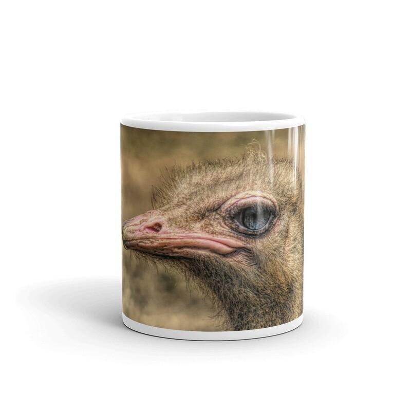 Ostrich Headshot_147 Mug