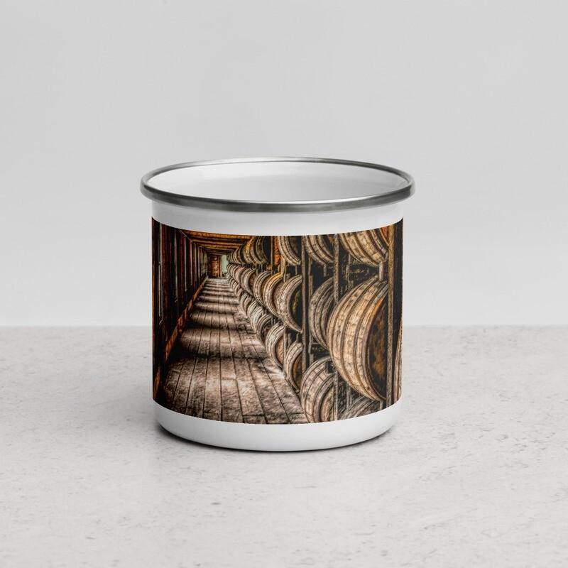 Kentucky Hallway_168 Enamel Mug