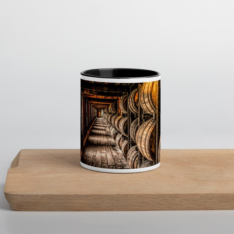 Kentucky Hallway_168 Mug with Color Inside