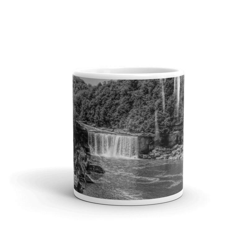 Cumberland Falls BW_130 Mug