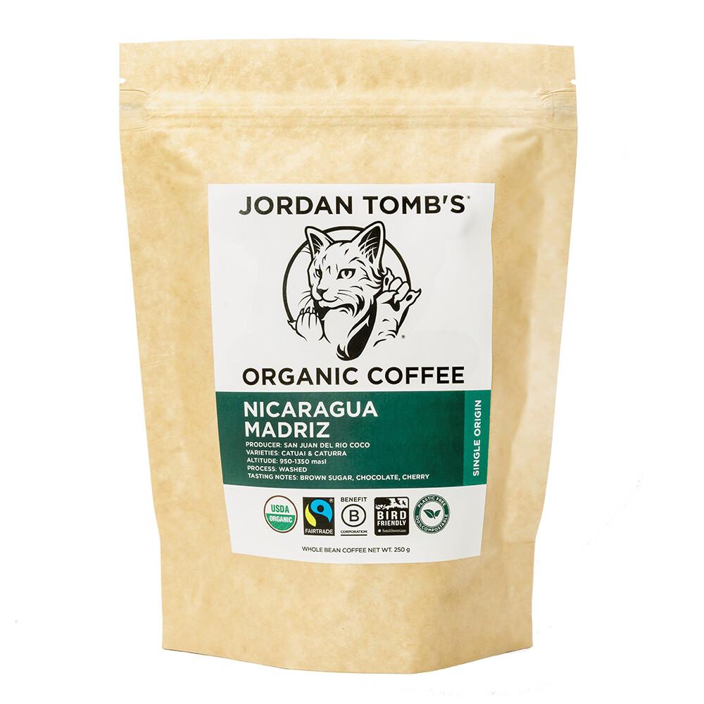 Jordan Tomb's Organic Coffee - Nicaragua Madriz - Fairtrade