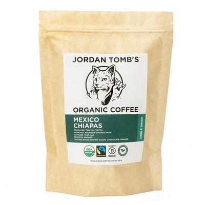 Jordan Tomb's Organic Coffee - Mexico Chiapas - Fairtrade