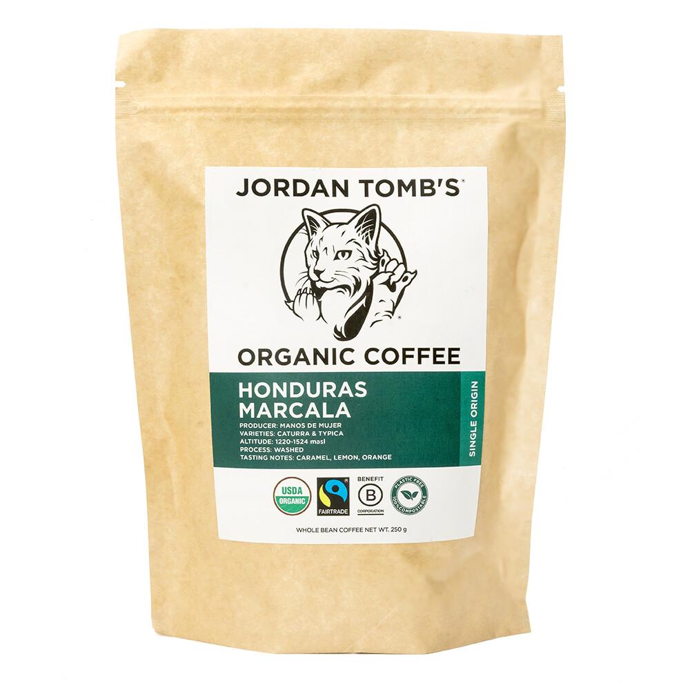 Jordan Tomb's Organic Coffee - Honduras Marcala - Fairtrade