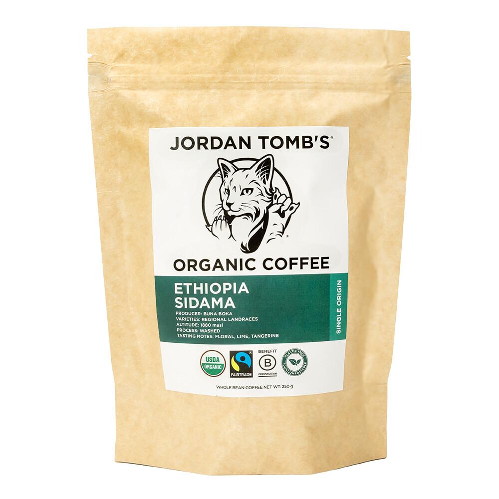 Jordan Tomb's Organic Coffee - Ethiopia Sidama - Fairtrade