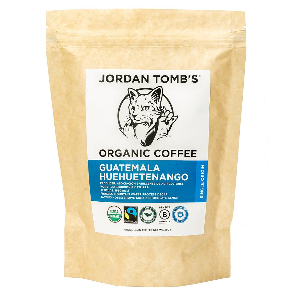 Jordan Tomb's Organic Coffee - Guatemala Huehuetenango - DECAF - Fairtrade
